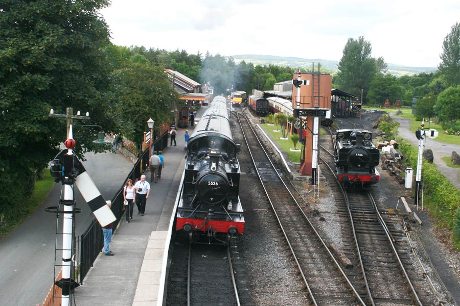 Buckfastleigh station includes a fascinating railway museum