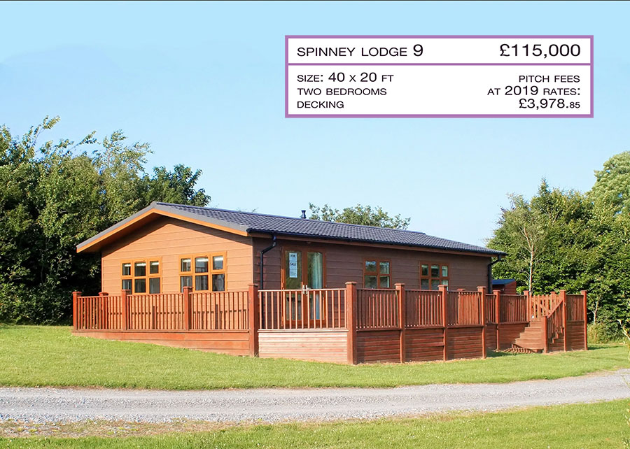 Pre-Owned Lodge For Sale, Spinney Plot 9