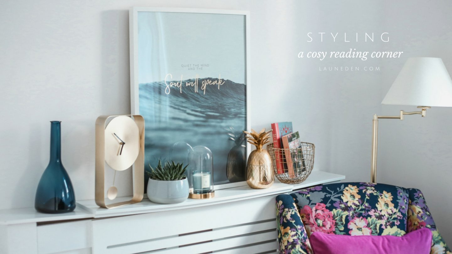 Tips for creating a cosy reading corner DSF x Joules - Launeden
