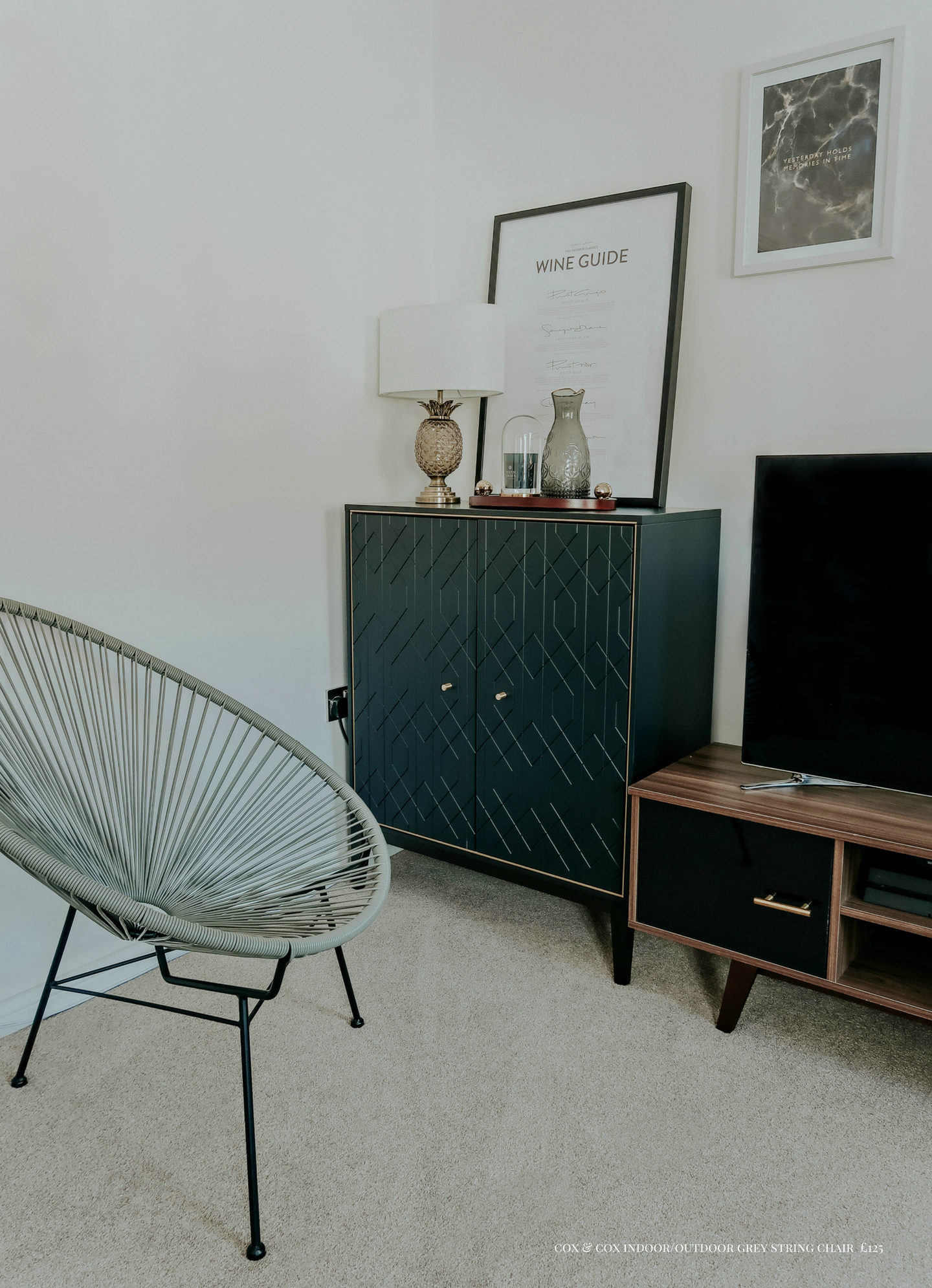 How we decorated our living room - Launeden