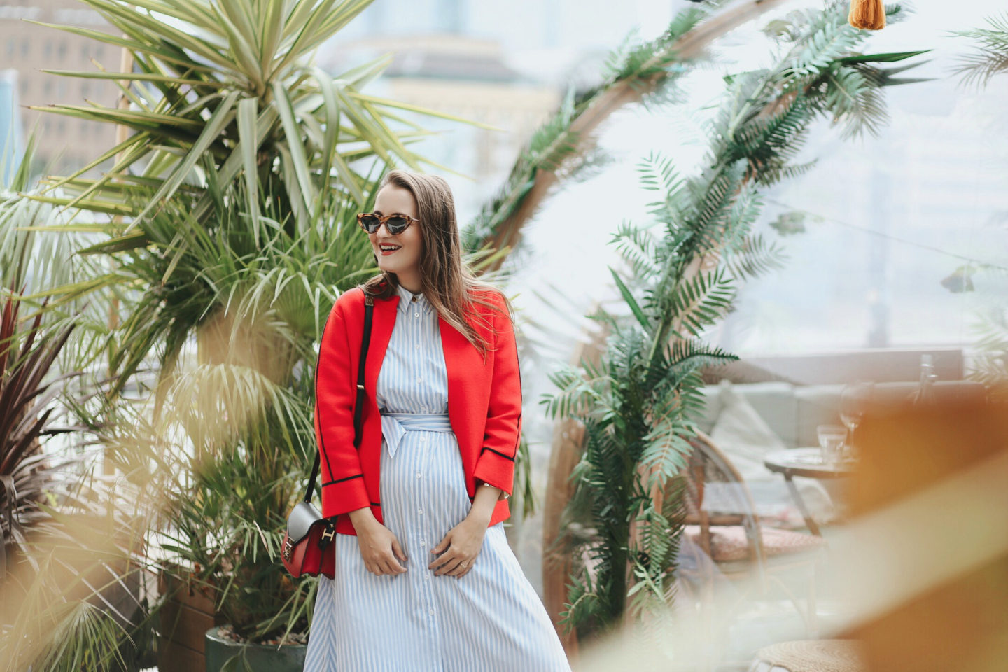 5 ways to style your pregnancy bump - Launeden