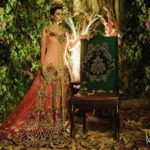 Floral Embroidered Spring Bridal Collection 2016