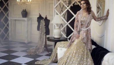 Nida Azwer Bridal Party Wear Dresses 2016