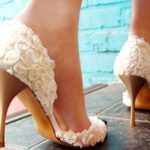 Floral Lace Bridal Shoes