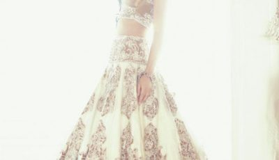 White Luxury Bridal lehanga