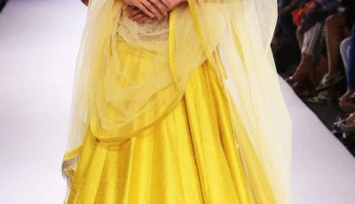 Yellow Indian Lehenga Choli