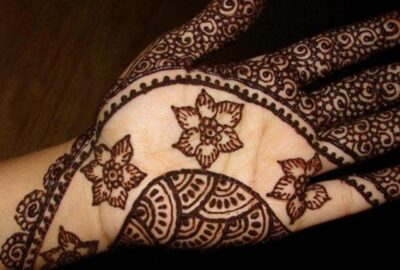 Fall Mehndi Designs
