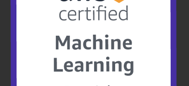 AWS Certified Machine Learning Specialty Certification