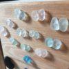 earrings in the making