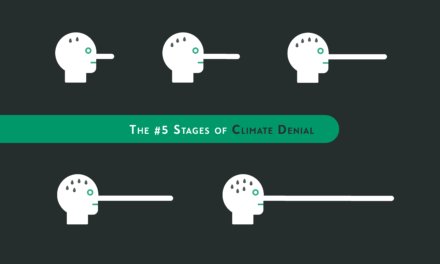 The #5 Stages of Climate Change Denial
