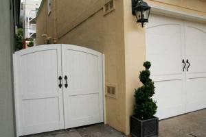 white-garage-side-door