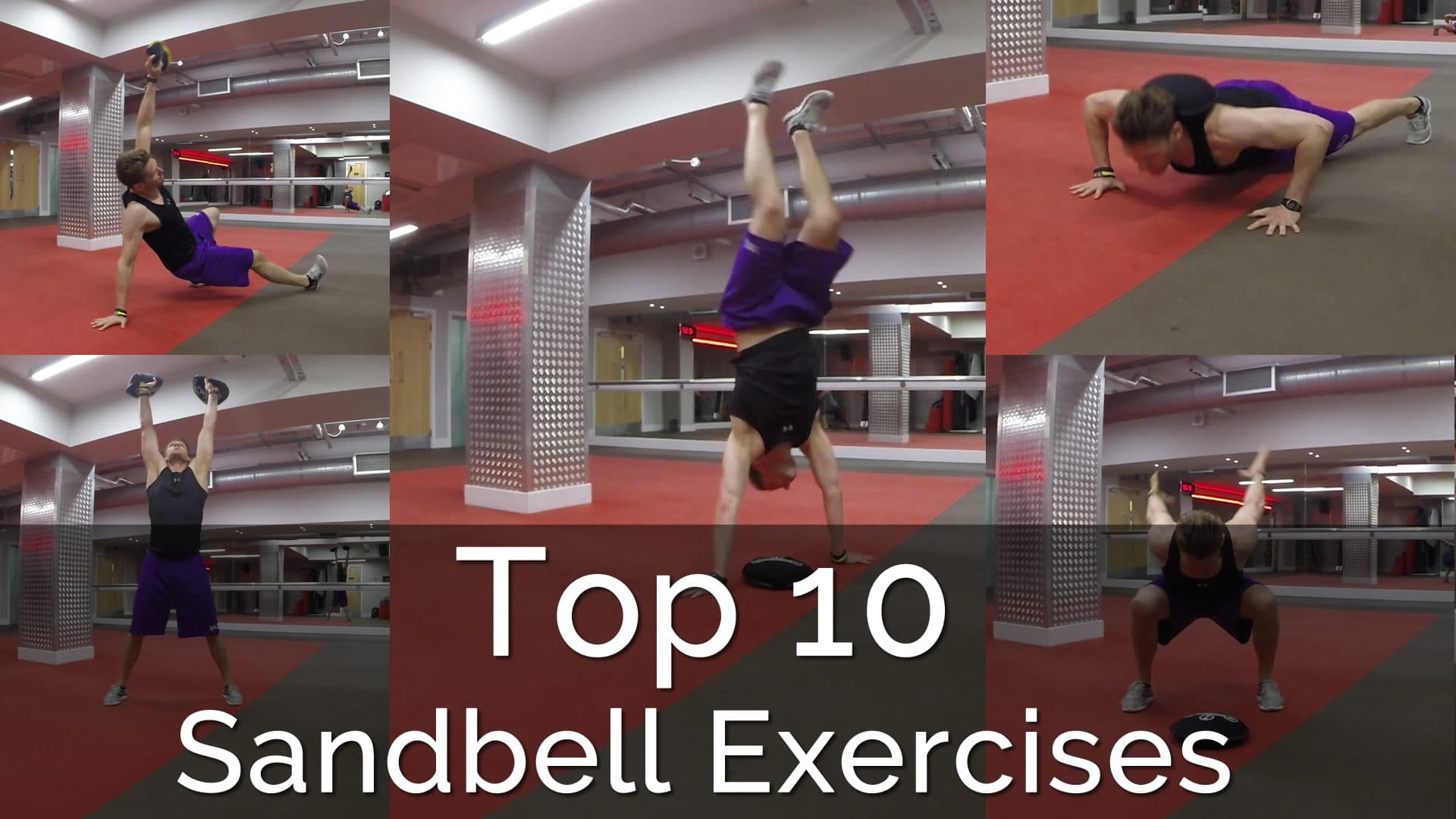 Sandbell Excercises MArc Dressen Personal Fitness Trainer London