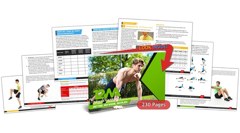 12weekATHLETE Workout Program Cover 230 Pages Mdpt