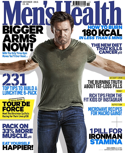 Men's Health UK - November 2015 Cover Picture