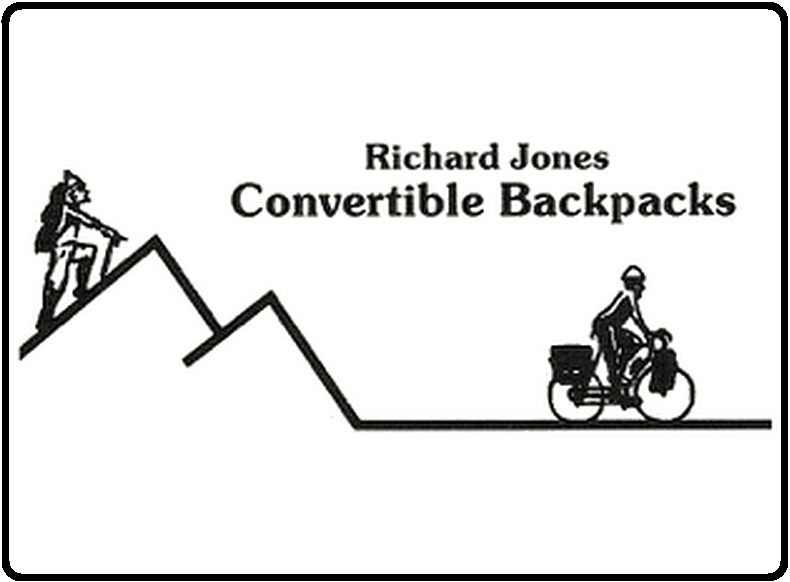 Pannier Backpacks – Richard Jones Convertible Backpacks
