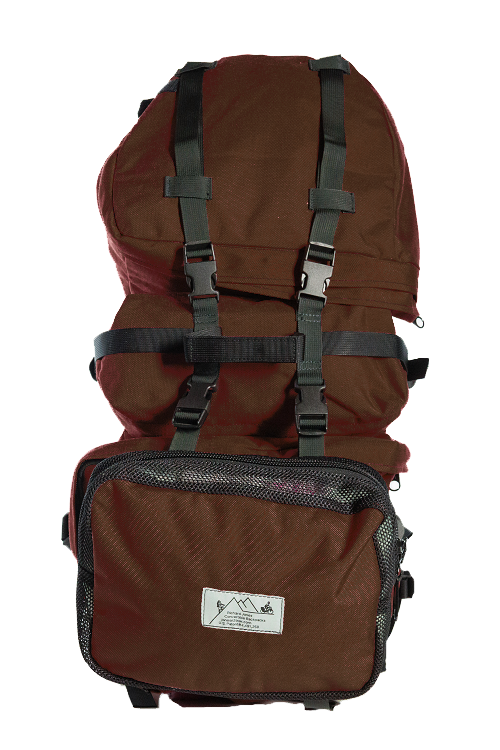 Brown Pannier Backpack Classic Model