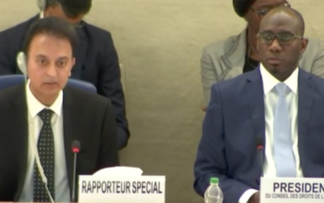 """UN Special Rapporteur on Iran """"deplores"""" the persecution of BBC Persian staff and their families"""