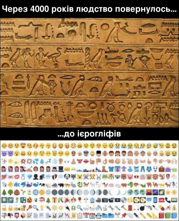 Сучасні ієрогліфи