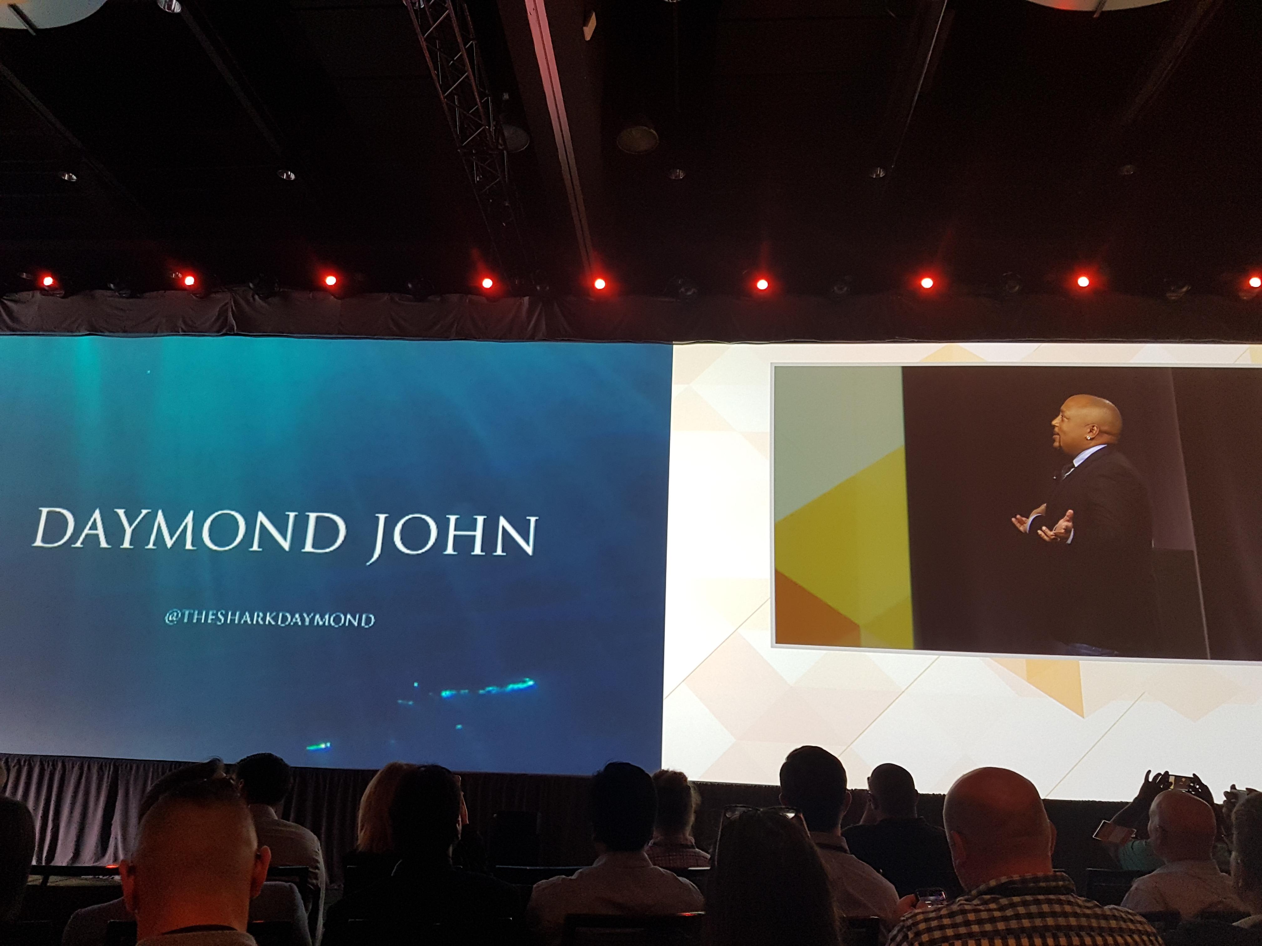 Daymond John at Sitecore Symposium 2018