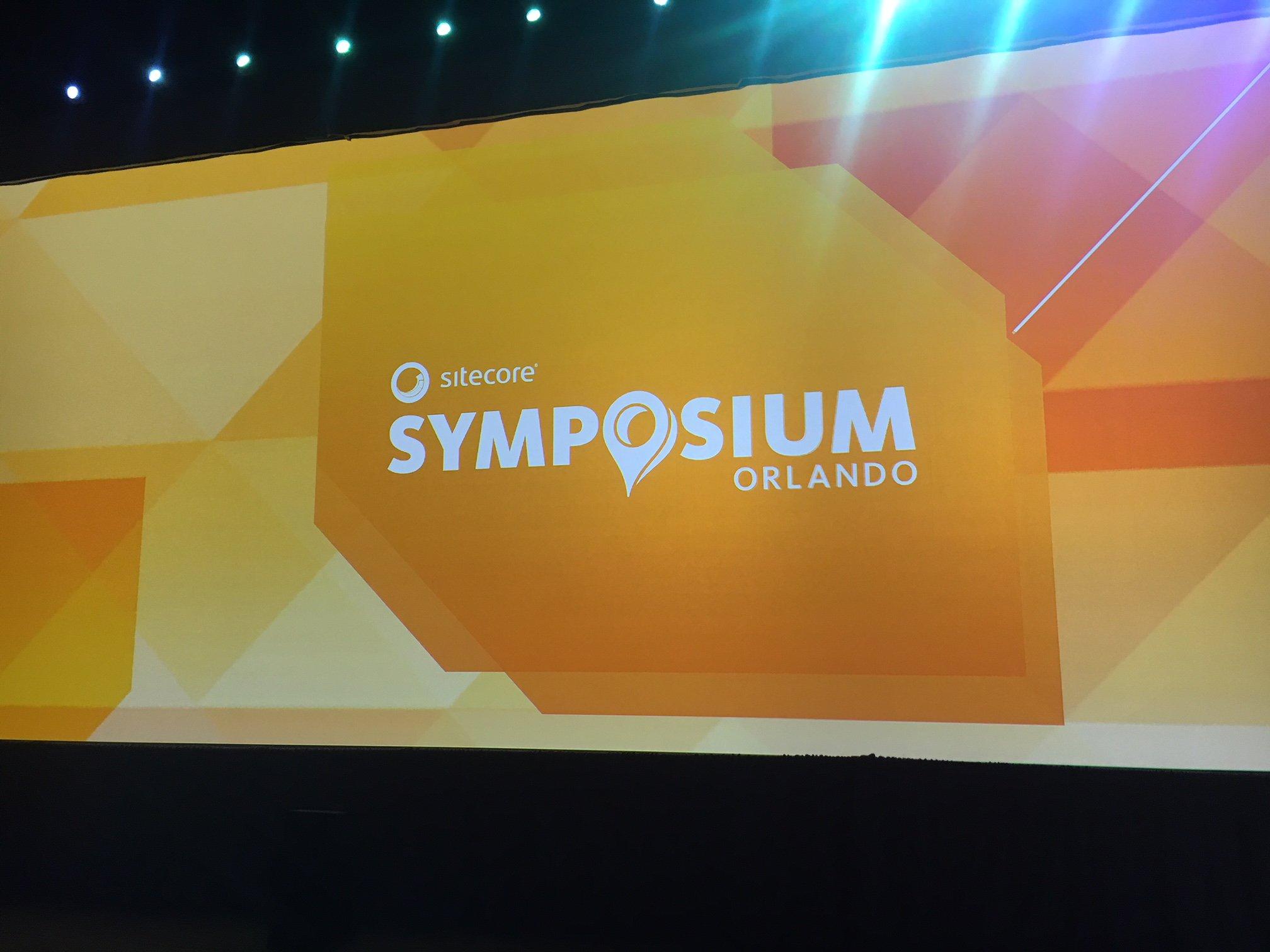 Sitecore Symposium 2018