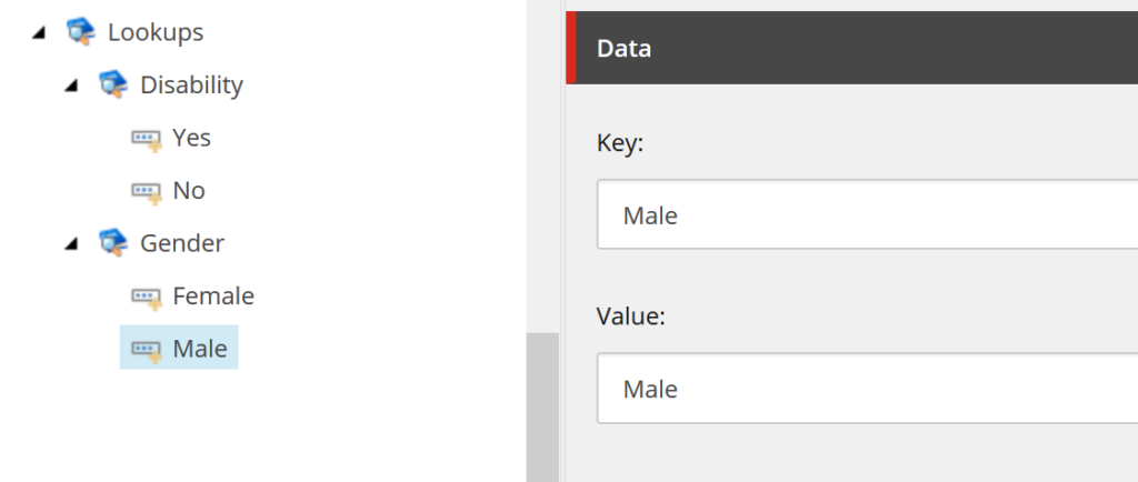 Lookup values items in Sitecore Tree