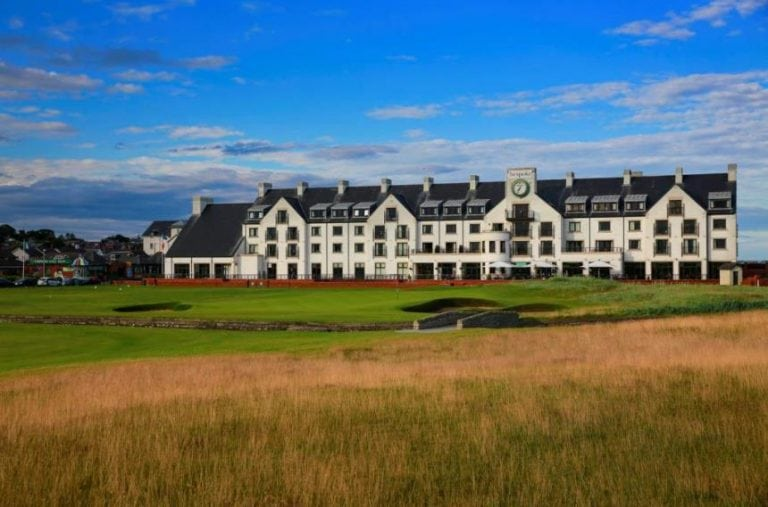 Carnoustie golf clubhouse