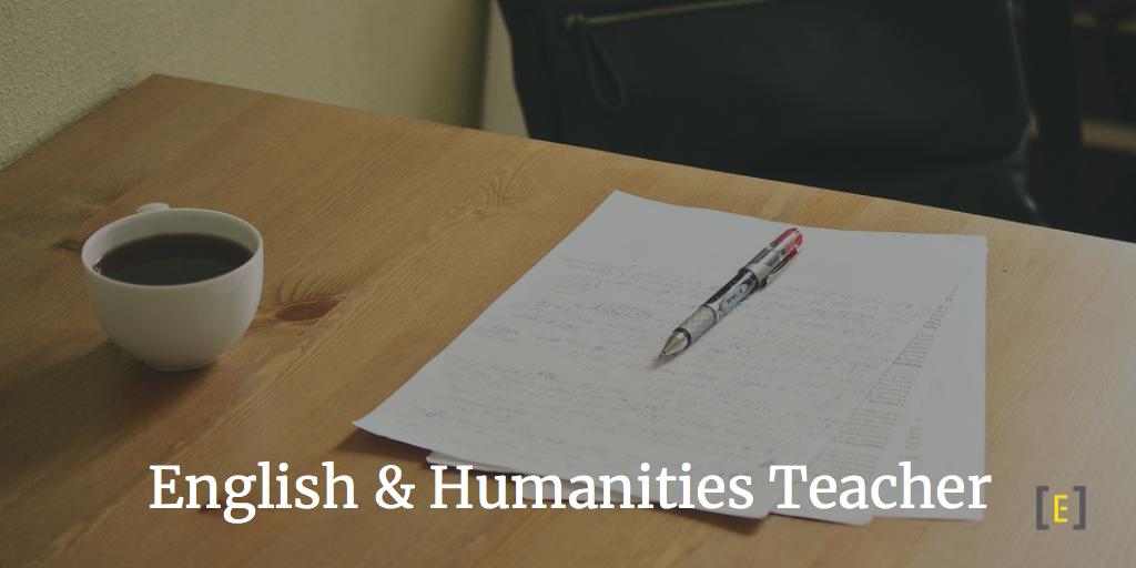 English and Humanities Teacher