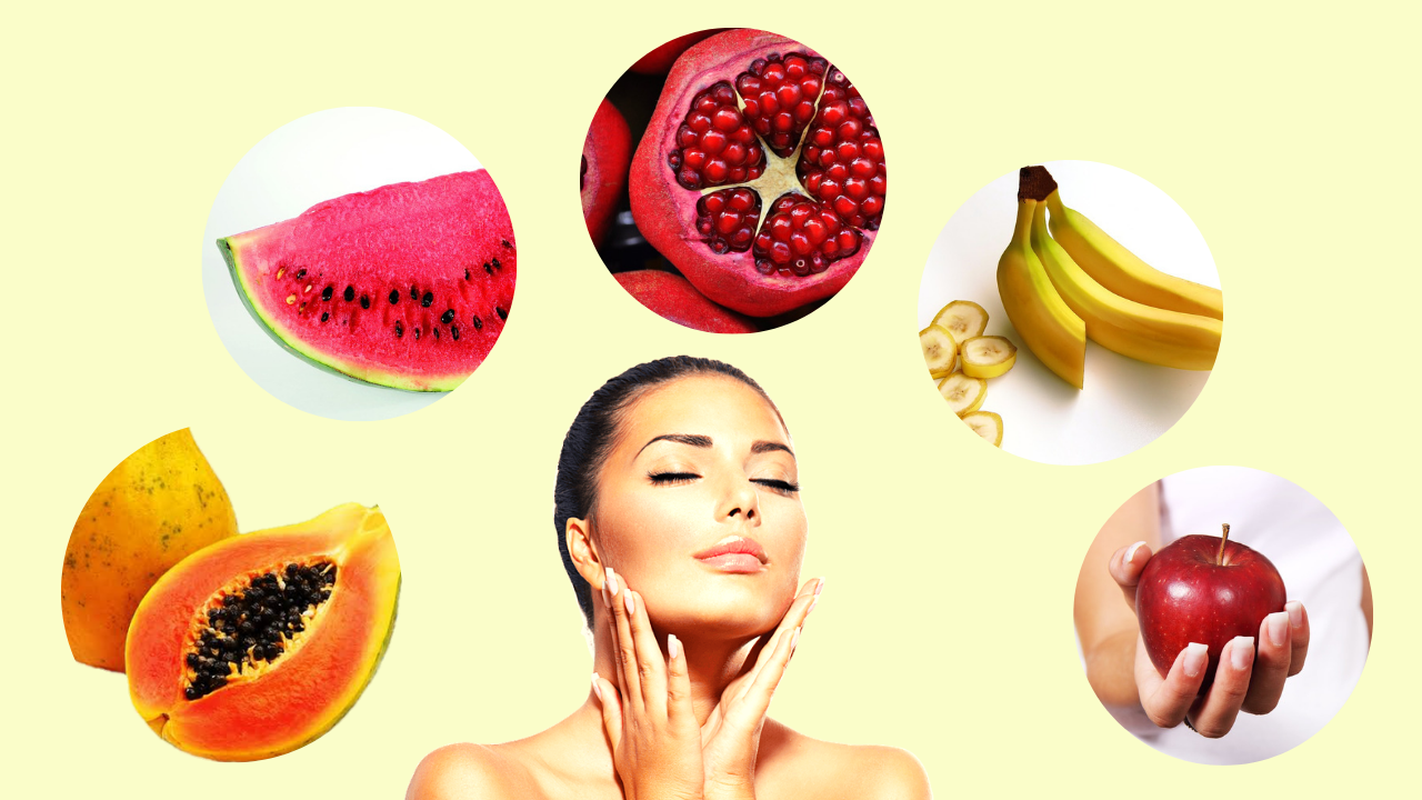 fruit beauty tips for glowing face