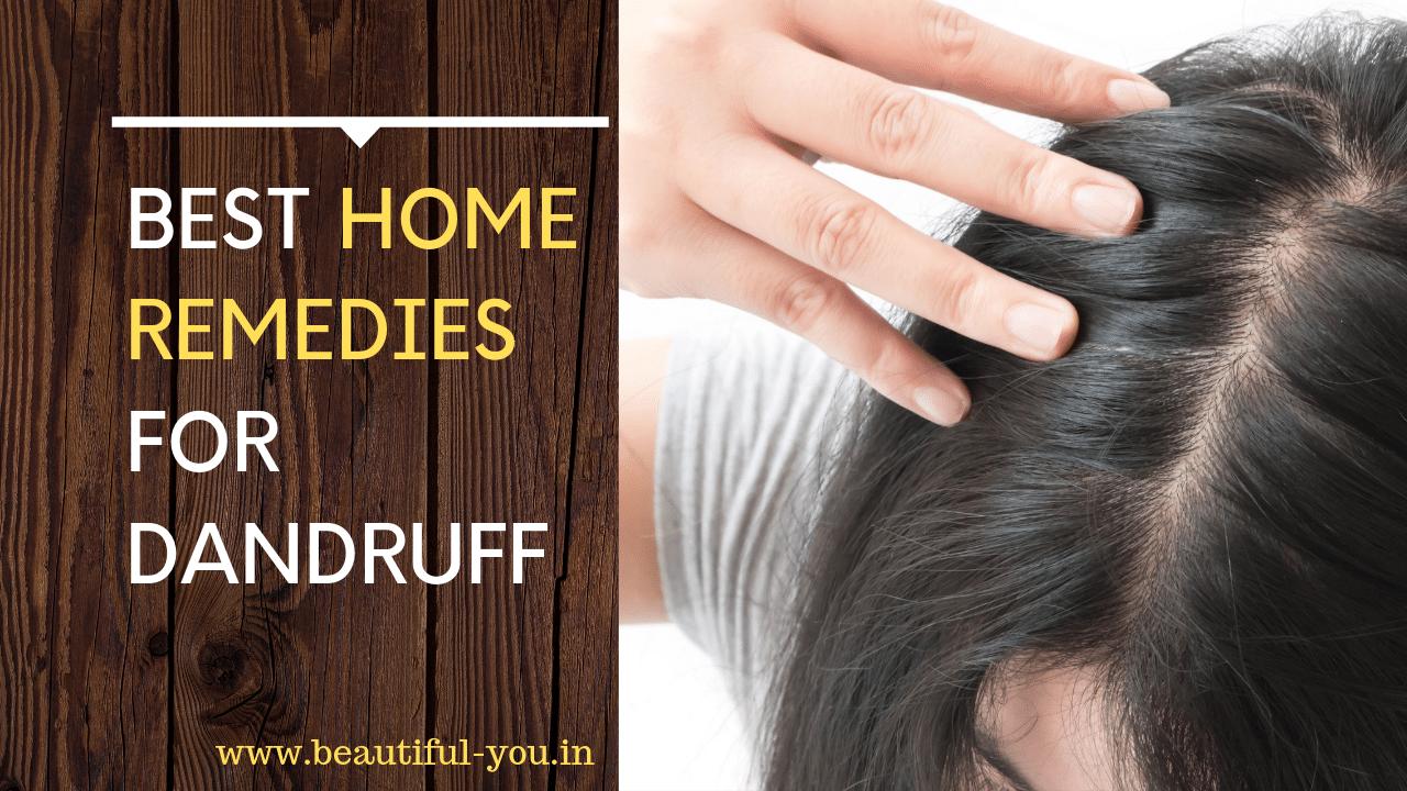 How to Remove Dandruff 5 Dandruff Home Remedies