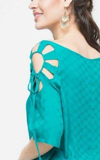 Off Shoulder Sleeves Design