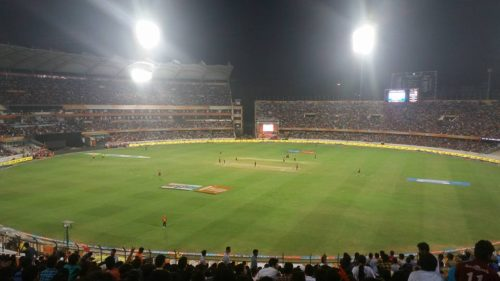Rajiv Gandhi International Stadium in Hyderabad