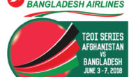 Biman Bangladesh Airlines Bangladesh-Afghanistan T20 Series 2018