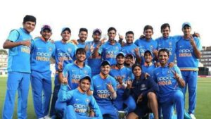 India U19 Squad for ICC U19 World 2020