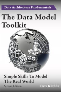 The cover of The Data Model Toolkit