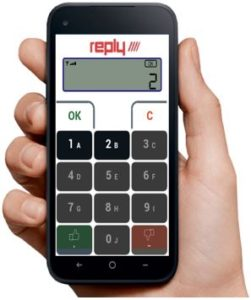 Reply BYOpad voting system hire