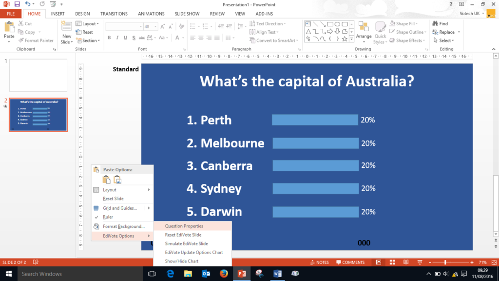 how do I make my powerpoint more interesting?