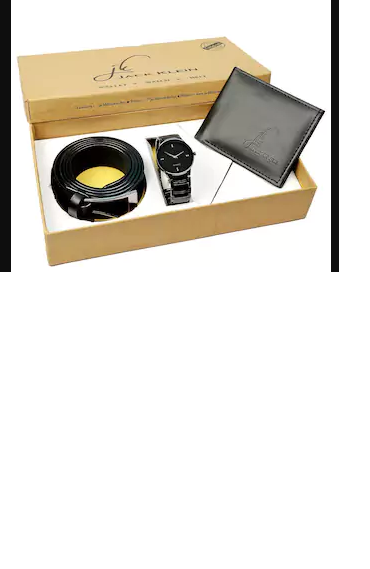 Jack Klein Gift Box Combo (Watch + Wallet + Belt) at Rs. 99 only