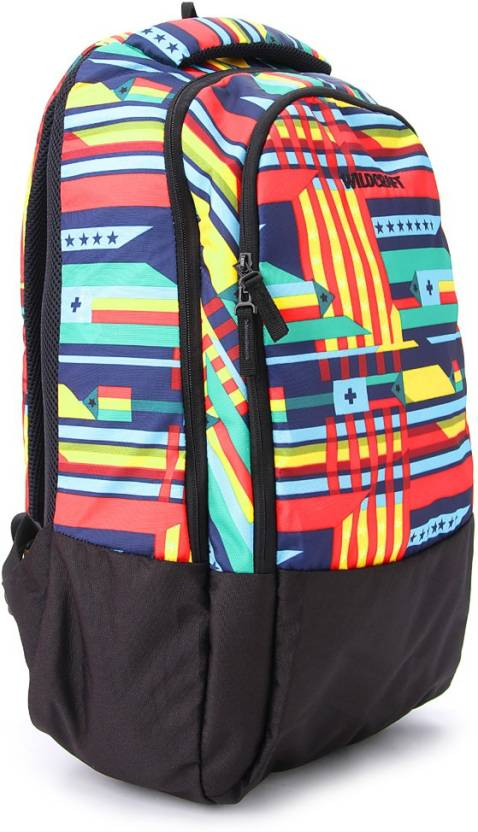 Wildcraft Guide Blue 30 L Medium Backpack (Black, Blue) at Rs.559 only