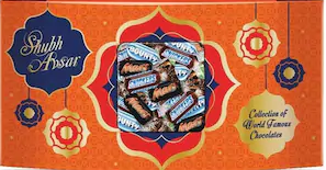 Snickers Mixed Miniatures Chocolate Gift Pack, 150 gm at Rs.98 only
