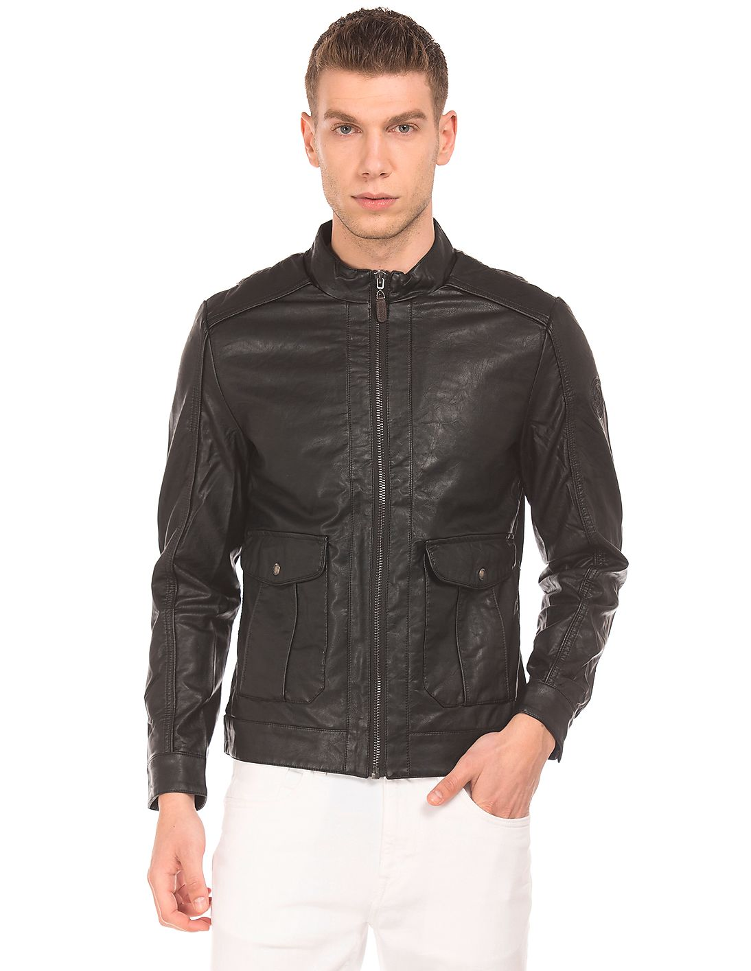 Flying Machine & U.S.Polo Assn Jackets at Flat 80% off
