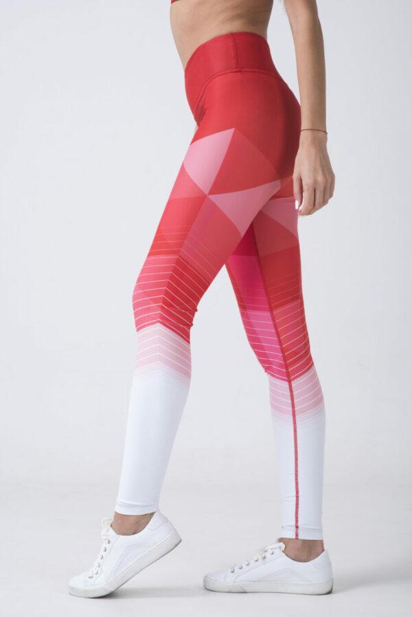 woman in fitness leggings