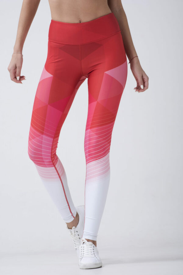woman in fitness tights