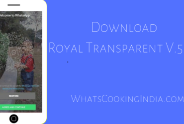 ROYAL WhatsApp Transparent Latest APK