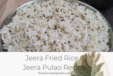 Jeera Fried Rice