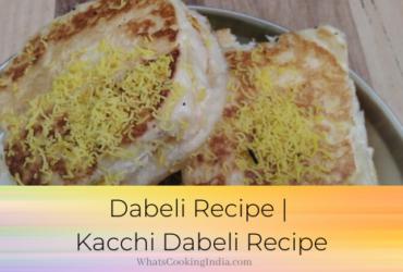 Kacchi Dabeli Recipe