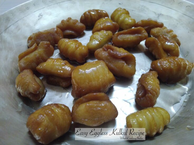 Kidiyo Recipe | Eggless Kal Kal Recipe