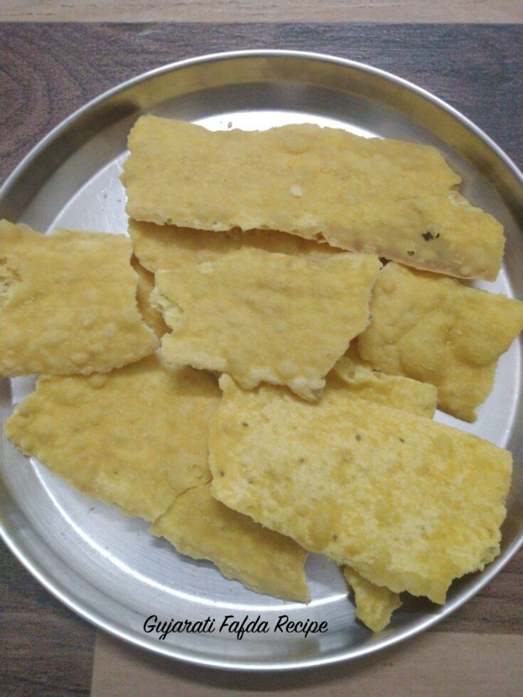 Gujarati Fafda | Fafda Recipe