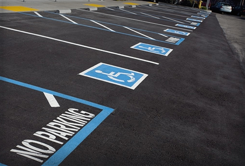 Car Park Line Marking