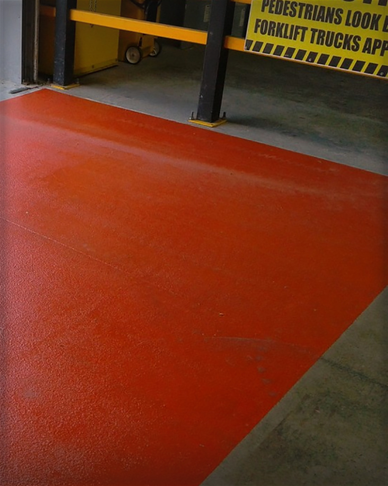 Shot Blast Floor Coating
