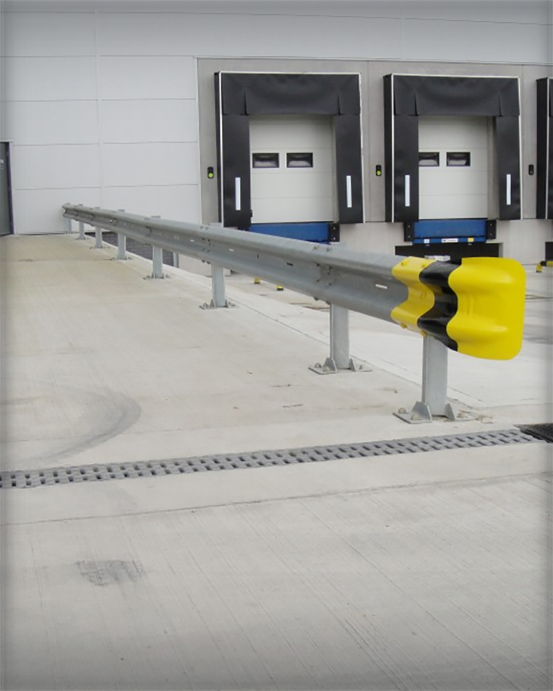 Warehouse Safety Barriers